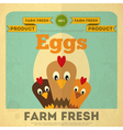 Chicken and Egg vector image vector image