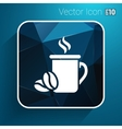 Coffee cup logo design template Cafe shop vector image vector image