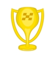 Cup for first place icon cartoon style vector image vector image