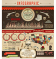 Infographics Icon Set vector image
