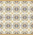 retro floor tiles seamless pattern vintage vector image