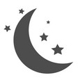 sleep icon on white background flat style sleep vector image