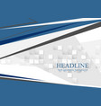 tech minimal abstract corporate background vector image vector image