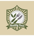 vegetarian food menu vector image vector image