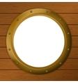window porthole vector image