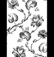 8 Abstract hand-drawn floral seamless pattern