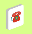 phone telephone computer symbol vector image vector image