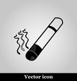 smoke icon great for any use on grey background vector image vector image