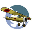Classic Airplane vector image