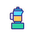electric blender icon outline vector image vector image