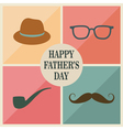 fathers items vector image