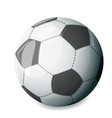 isolated football ball sport icon vector image vector image