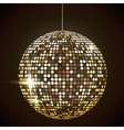 Mirror disco ball EPS10 Transparent objects and vector image