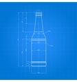 Print Of Beer Bottle vector image vector image