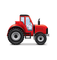 tractor isolated vector image