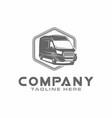van car logo vector image vector image