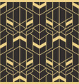 abstract art deco seamless pattern 83 vector image vector image