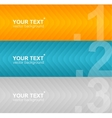 Arrow speech templates for text vector image vector image