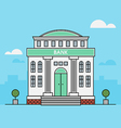 Bank Finance Building vector image