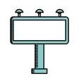 board cinema isolated icon design vector image vector image