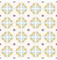 Floral seamless pattern collection vintage color vector image vector image