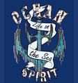 ocean spirit vector image vector image