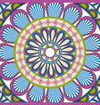 ornate abstract color mandala element wallpaper vector image vector image