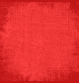 texture red fabric vector image vector image