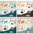4 in 1 infographics vector image