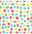 abstract colorful forms pattern for design and vector image vector image