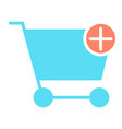add items to shopping cart icon pictogram vector image vector image