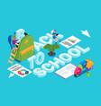 back to school banner 08 vector image