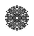 design mandala pointillism tattoo vector image