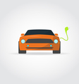 Electro car vector image
