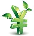 Flourishing yen vector image vector image