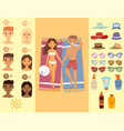 people sunshine tan beach outdoors summer suntan vector image vector image