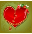 Poker Heart vector image