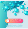 science and medicine abstract background with 3d vector image