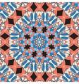 Seamless Oriental Print vector image vector image