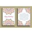 Birthday Greeting Luxury Ornament vector image