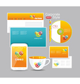 Corporate identity kit for your business vector image vector image
