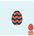Egg icon isolated vector image vector image