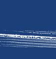 grunge texture distress indigo rough vector image
