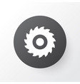 milling cutter icon symbol premium quality vector image
