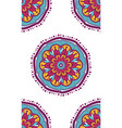 native seamless pattern from mandala vector image