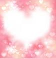 pink gentle frame vector image vector image