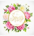 spring collection backgrounds vector image