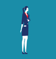 Women leaders business vector image vector image