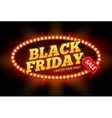 Black Friday SALE frame design template Black vector image