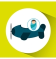 boy newborn wrap design vector image vector image